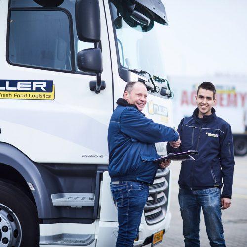 LKW-Fahrer/in werden