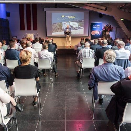Seminar 80-jarig jubileum Müller Fresh Food Logistics