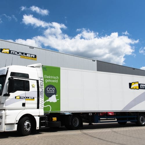 Müller neemt duurzame trailer in gebruik