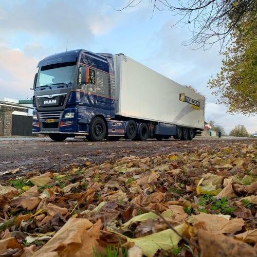 Truckstar rijdt 'm zelf! – Herfst-uitje naar Engeland